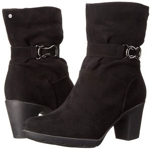 Clarks Lucette Holly Suede Waterproof Boots